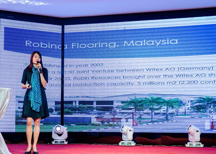 Hội nghị sàn gỗ Robina tại Hà Nội ngày 21-05-2018