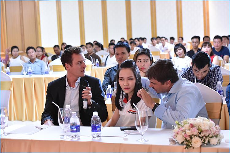 Hội nghị ra mắt sàn gỗ Egger tại Việt Nam