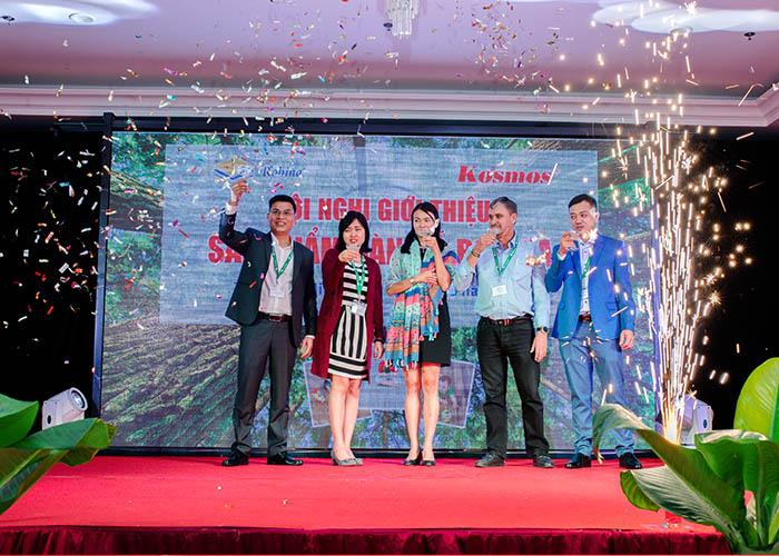 Hội nghị diễn ra thành công tốt đẹp hứa hẹn nhiều mục tiêu phát triển sàn gỗ Robina tại Việt Nam