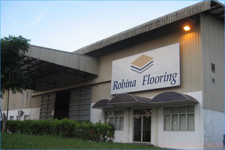 Nhà máy sàn gỗ Robina