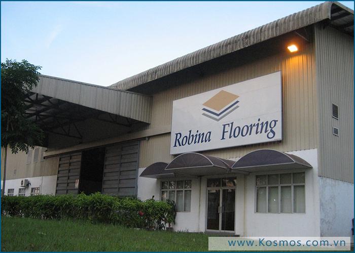 Nhà máy sàn gỗ Robina - Malaysia