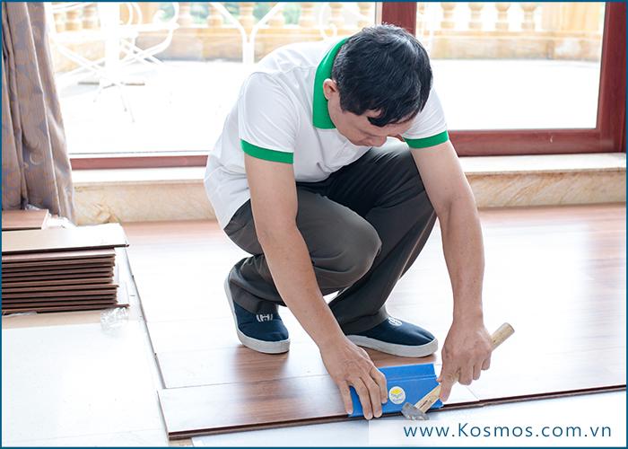 Lắp đặt sàn gỗ Robina