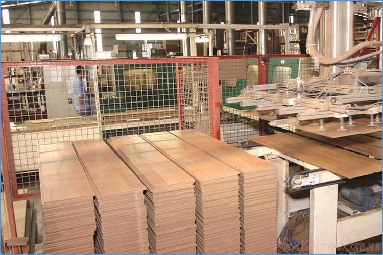 Công nghệ sản xuất sàn gỗ Robina - Malaysia