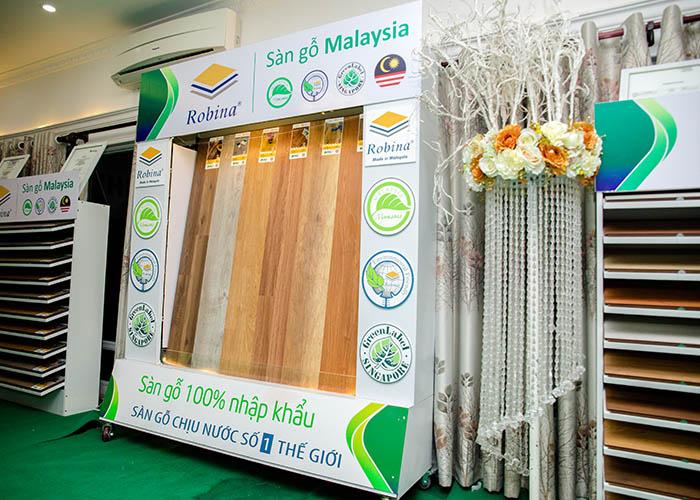 Thương hiệu sàn gỗ Robina đến Việt Nam là sự hợp tác tốt đẹp giữa Kosmos và nhà máy Robina