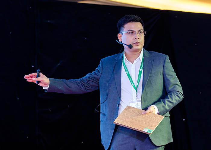 Ông Trần Quang Hội - Giám đốc Kosmos JSC đã có bài giới thiệu về lịch sự phát triển ROBINA
